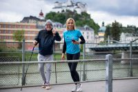 Anita Gerhardter und Gerry Friedle (c) Wings for Life World Run Schaad
